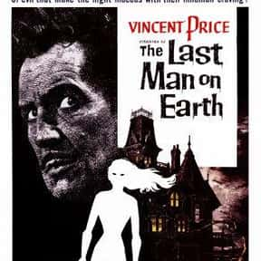 The Last Man on Earth is listed (or ranked) 7 on the list The Best Sci-Fi Movies of the 1960s