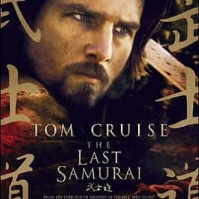 The Last Samurai is listed (or ranked) 8 on the list The Best Movies of 2003