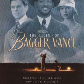 The Legend of Bagger Vance is listed (or ranked) 21 on the list The Best Will Smith Movies