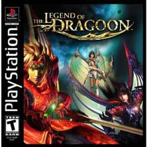 The Legend of Dragoon is listed (or ranked) 8 on the list The Best Playstation 1 (PS1,PSX,PSOne) RPG