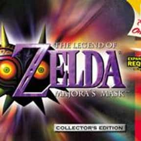 The Legend of Zelda: Majora's  is listed (or ranked) 3 on the list The Best Nintendo 64 RPGs