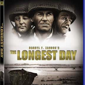 The Longest Day is listed (or ranked) 2 on the list The 50+ Best War Movies Ever Made, Ranked