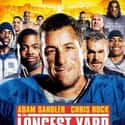 The Longest Yard is listed (or ranked) 17 on the list The Best Football Movies Ever