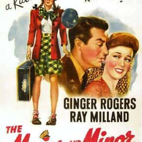 The Major and the Minor is listed (or ranked) 10 on the list The Best Comedies of the 1940s