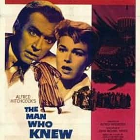 The Man Who Knew Too Much is listed (or ranked) 6 on the list The Best '50s Thriller Movies
