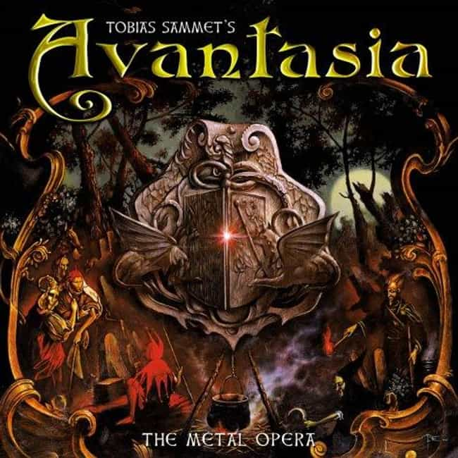 The Metal Opera is listed (or ranked) 1 on the list The Best Avantasia Albums of All Time