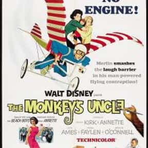 The Monkey's Uncle is listed (or ranked) 13 on the list The Best Disney Science Fiction Movies Of All Time