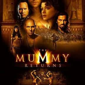 The Mummy Returns is listed (or ranked) 1 on the list The Worst CGI Adventure Movies