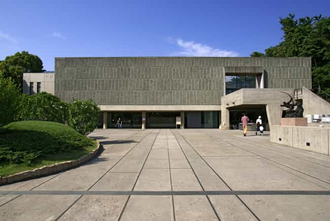 National Museum of Weste... is listed (or ranked) 3 on the list List of Le Corbusier Architecture