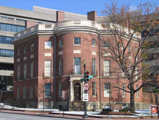 The Octagon House is listed (or ranked) 1 on the list 10 Terrifying Ghost Stories From Washington D.C.