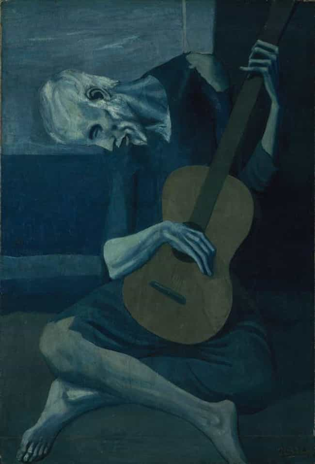 The Old Guitarist is listed (or ranked) 2 on the list Pablo Picasso's Greatest Works of Art