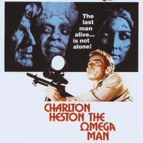 The Omega Man is listed (or ranked) 11 on the list The Best '70s Disaster Movies