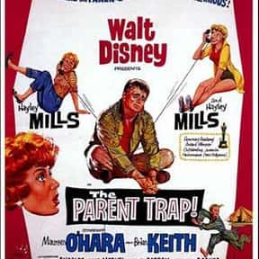 The Parent Trap is listed (or ranked) 3 on the list The Best Disney Live-Action Movies