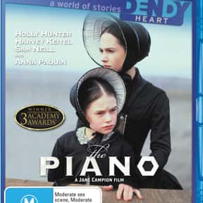The Piano is listed (or ranked) 15 on the list The Best Movies About Forbidden Love