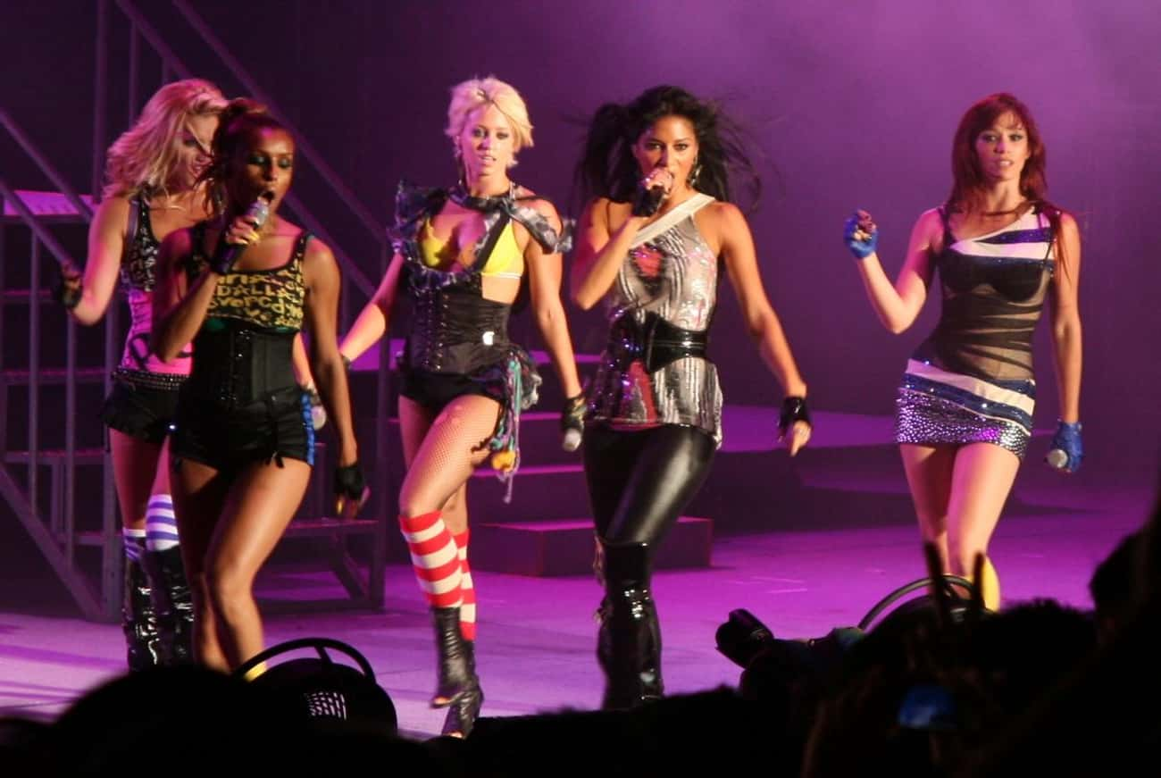 The Pussycat Dolls is listed (or ranked) 1 on the list Pussycat Dolls Present: Girlicious Cast List