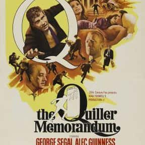 The Quiller Memorandum is listed (or ranked) 16 on the list The Best Spy Movies of the 1960s