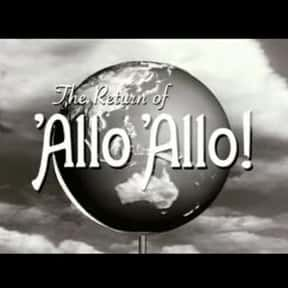 The Return of 'Allo 'Allo! is listed (or ranked) 14 on the list David Croft Shows and TV Series