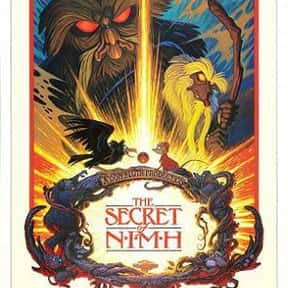 The Secret of NIMH is listed (or ranked) 20 on the list The Best Classic Fantasy Movies, Ranked