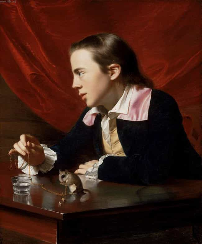 Boy with Squirrel is listed (or ranked) 1 on the list Famous John Singleton Copley Paintings