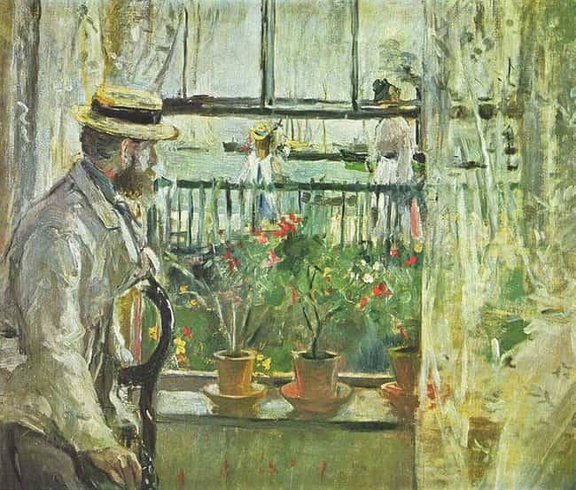 Eugène Manet on the Isle of Wi... is listed (or ranked) 4 on the list List of Famous Berthe Morisot Artwork