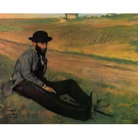Portrait of Eugène Manet
