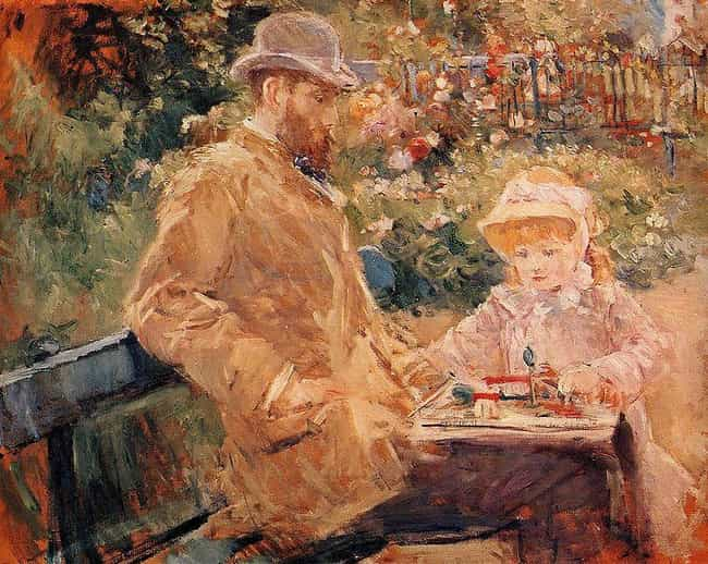 Eugène Manet and His Daughter ... is listed (or ranked) 2 on the list List of Famous Berthe Morisot Artwork