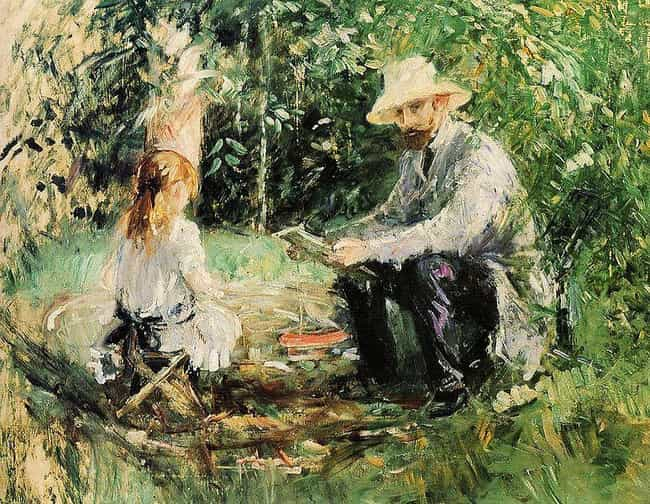 Eugène Manet and His Daughter ... is listed (or ranked) 3 on the list List of Famous Berthe Morisot Artwork