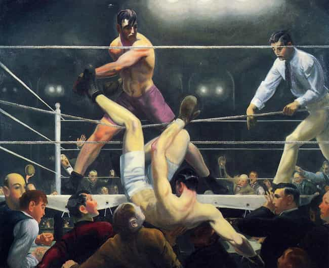 Dempsey and Firpo is listed (or ranked) 4 on the list Famous American realism Paintings