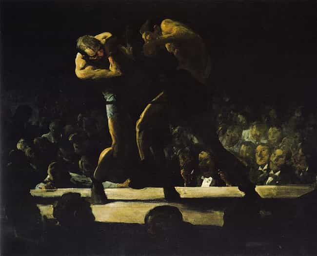 Club Night is listed (or ranked) 3 on the list Famous American realism Paintings