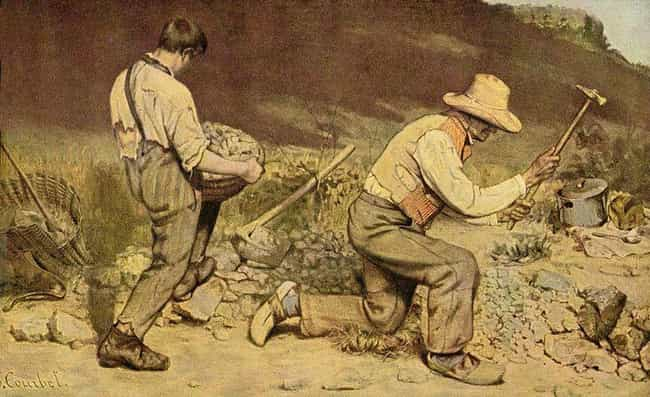 The Stone Breakers is listed (or ranked) 3 on the list Famous Genre Paintings by Gustave Courbet