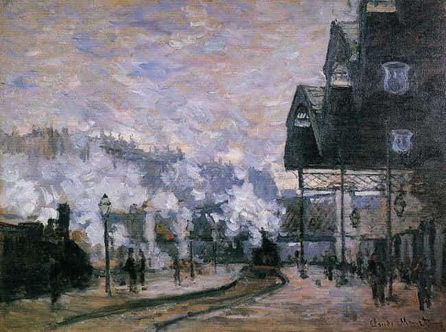 Famous Gare Saint-Lazare Art