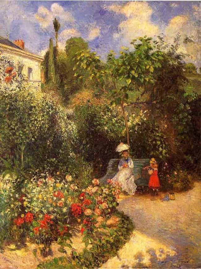 The Garden at Pontoise ... is listed (or ranked) 4 on the list Famous Landscape Arts by Camille Pissarro