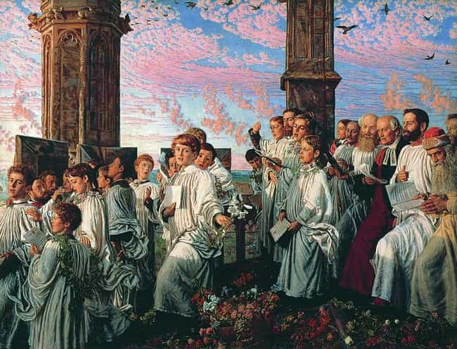 May Morning on Magdalen ... is listed (or ranked) 4 on the list Famous William Holman Hunt Paintings