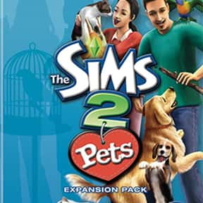The Sims 2: Pets is listed (or ranked) 5 on the list The Best Life Simulation Games of All Time