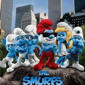 The Smurfs is listed (or ranked) 5 on the list The Worst Movies That Grossed More Than $500 Million