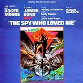 The Spy Who Loved Me is listed (or ranked) 5 on the list The Best Spy Movies Based on Books