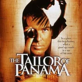 The Tailor of Panama is listed (or ranked) 20 on the list The Best Spy Movies Based on Books