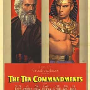 The Ten Commandments is listed (or ranked) 1 on the list The Greatest Biblical Movies Ever Made
