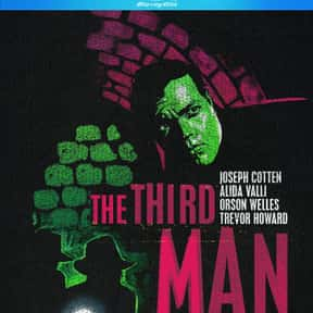 The Third Man is listed (or ranked) 12 on the list The Best Spy Movies Based on Books