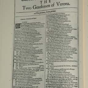 The Two Gentlemen of Verona is listed (or ranked) 38 on the list William Shakespeare's Plays