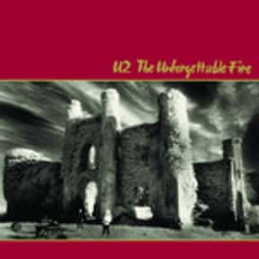 The Unforgettable Fire is listed (or ranked) 20 on the list My Top 50 Albums Of The 80's (At The Time)