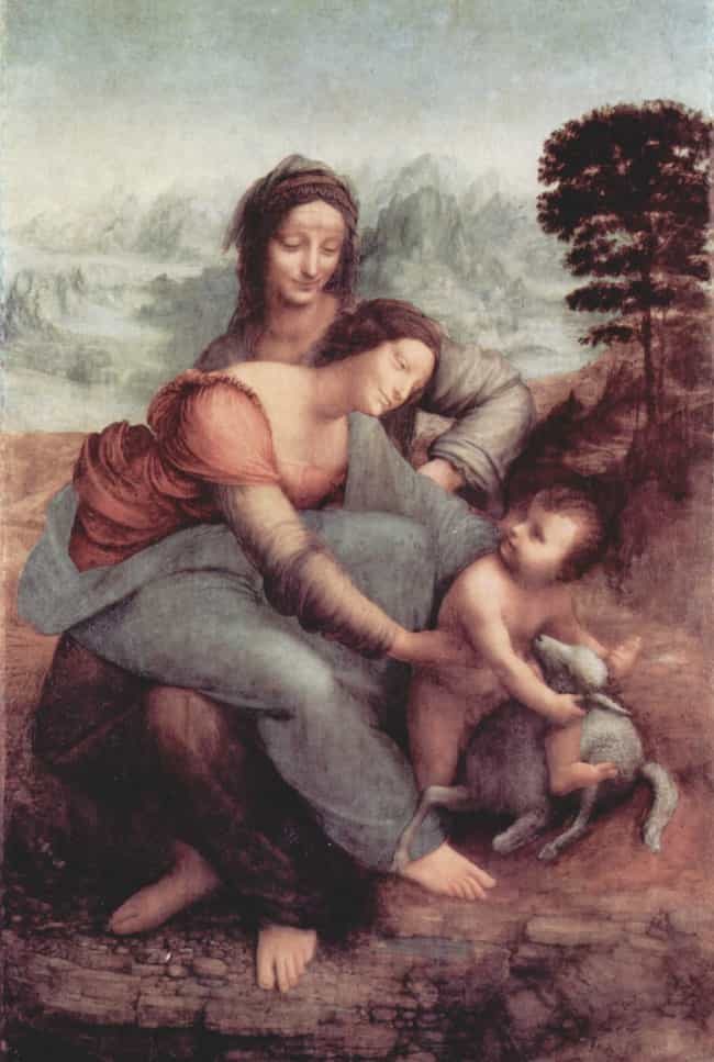 The Virgin and Child with St. ... is listed (or ranked) 2 on the list Famous Saint Anne Art