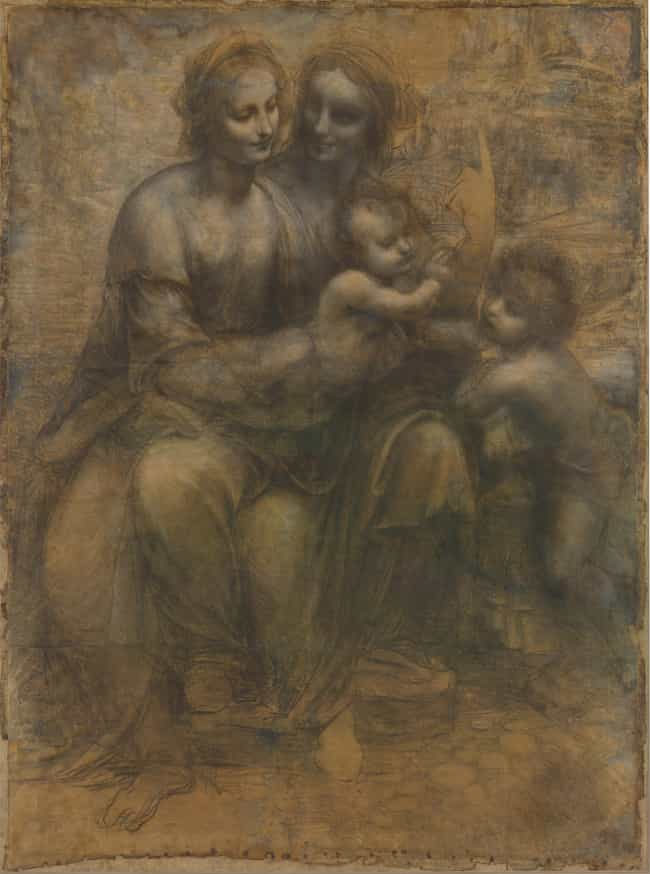 The Virgin and Child with St A... is listed (or ranked) 1 on the list Famous Saint Anne Art
