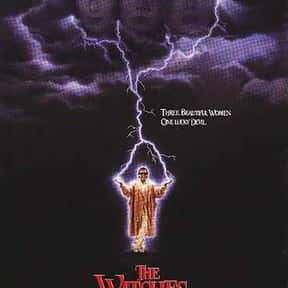 The Witches of Eastwick is listed (or ranked) 5 on the list The Best Michelle Pfeiffer Movies