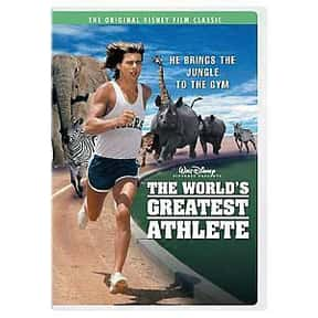 The World's Greatest Athlete is listed (or ranked) 16 on the list The BestRomanticDisney Movies