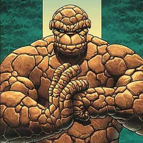 Thing is listed (or ranked) 2 on the list List of Fantastic Four Characters