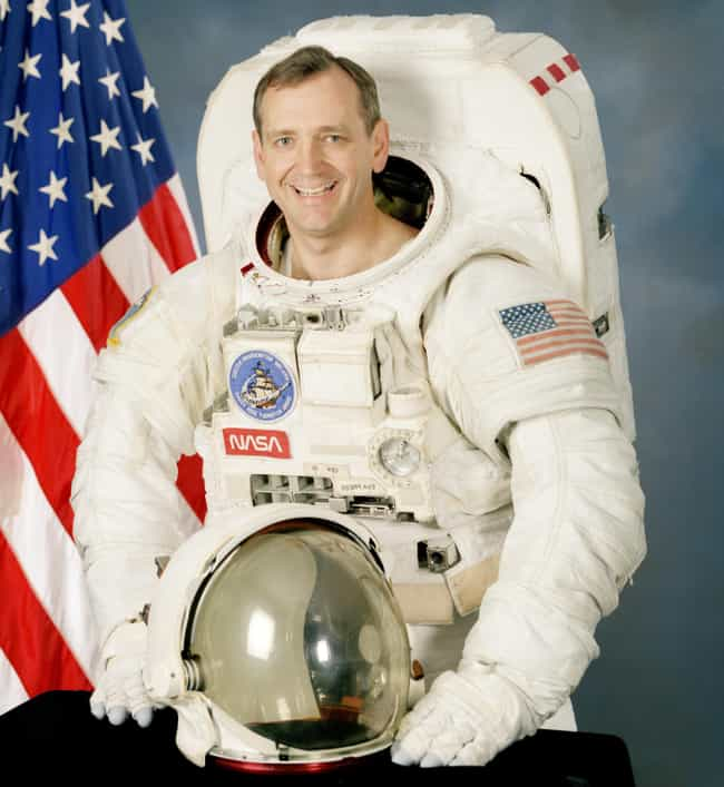 Thomas Akers is listed (or ranked) 4 on the list Male Space Travelers: A Complete List