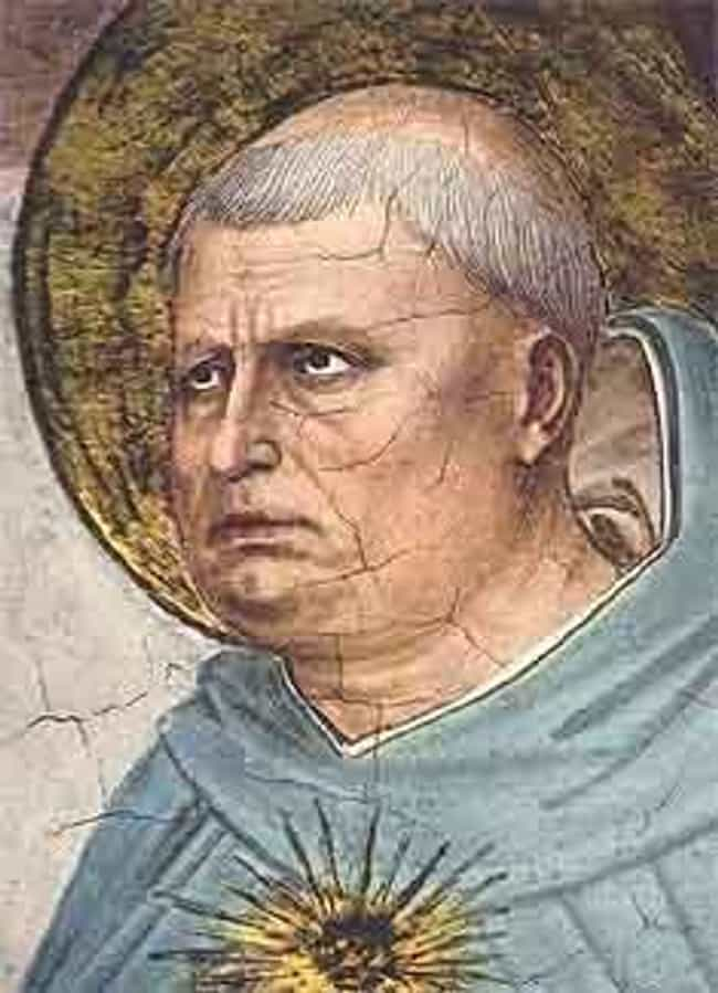 Thomas Aquinas is listed (or ranked) 4 on the list Famous Priests