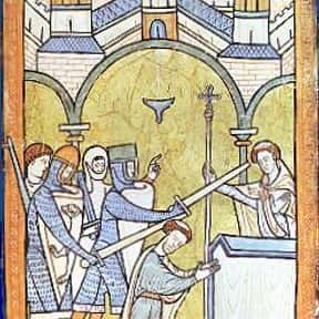 Thomas Becket is listed (or ranked) 7 on the list Famous University Of Paris Alumni