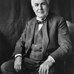 Thomas Edison is listed (or ranked) 24 on the list The Most Important Leaders in U.S. History